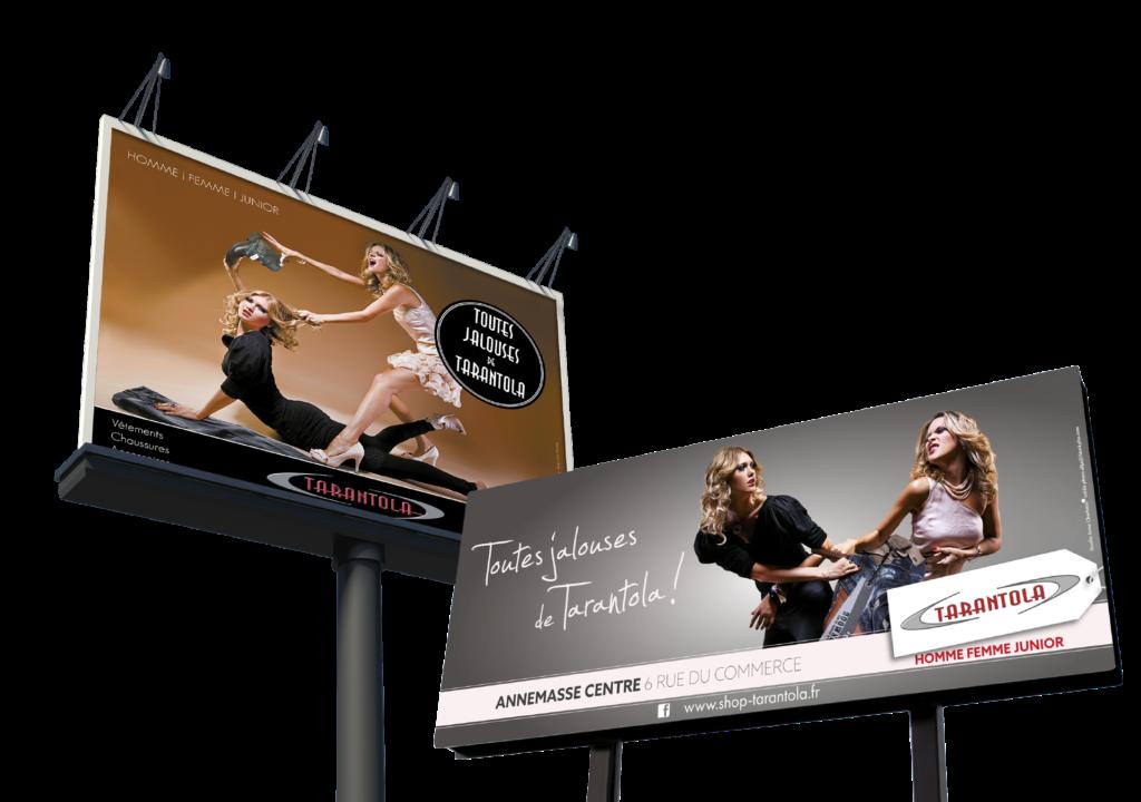 campagne publicité tarantola